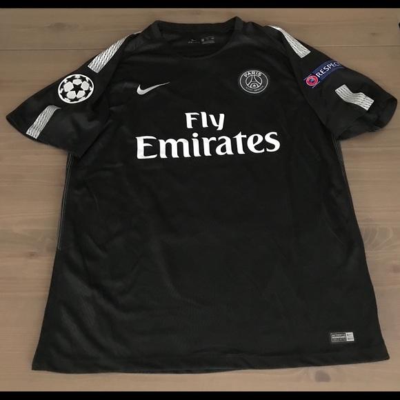new concept decc9 43f1e PSG away black Neymar Jr. #10 soccer jersey NWT